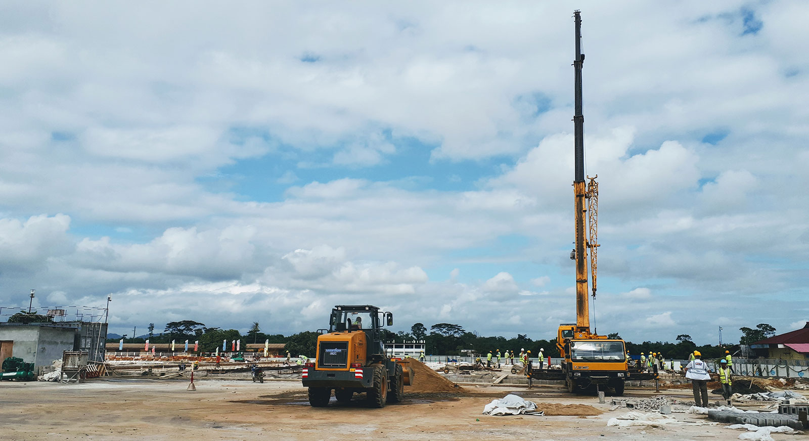 ag shipping crane project construction west africa