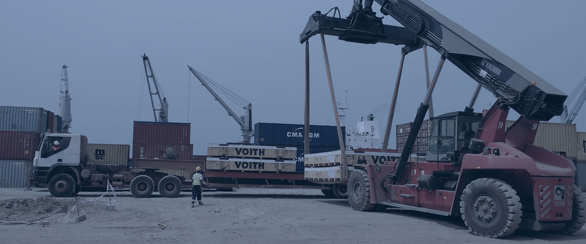 freight forwarding in west africa