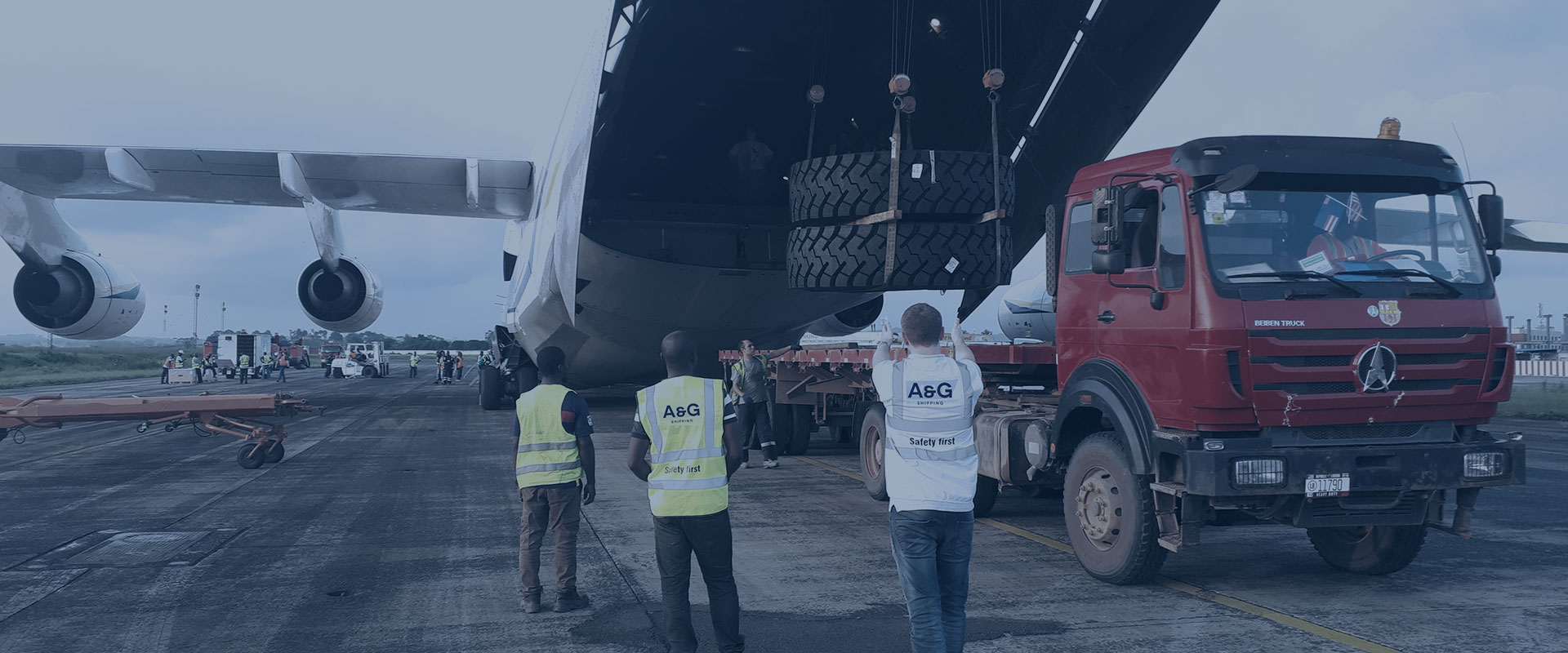 ship air project cargo west africa